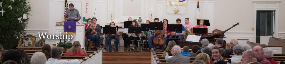 Worship at Bethesda Presbyterian Church