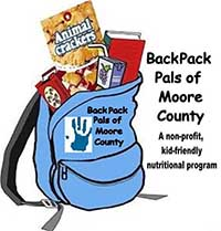 Back Pack Pals of Moore County NC