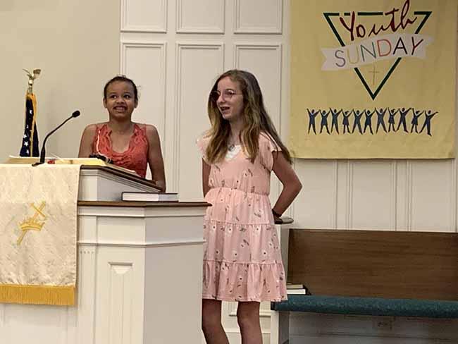 Bethesda Presbyterian Church, Youth Sunday